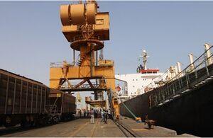 امکان حمل مستقیم غلات از کشتی توسط قطار پس از 15 سال فراهم شد