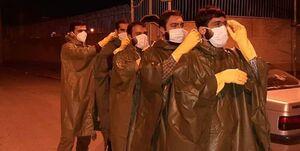 ماجرای منقلب شدن مسئول پدافند زیستی سپاه از اقدام ۲۰۰ جوان بسیجی +عکس