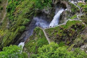 تصویر دیدنی از آبشار شَلماش