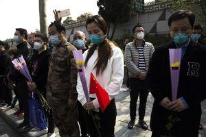 عکس/ ادای احترام ۳دقیقهای در سراسر چین