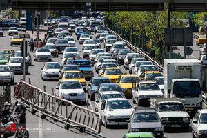 عکس/ خیابانهای تهران پس از تعطیلات نوروزی