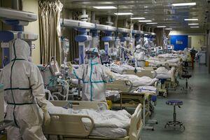بیمارستان آمریکا کرونا