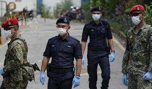 دستگیری هزاران نفر در مالزی به دلیل نقض قوانین ایام کرونا