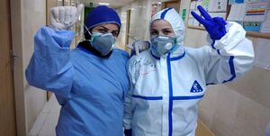 شوق پرستاران فومنی برای سلامت مردم+عکس