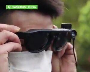 فیلم/ عینک هوشمند برای مبارزه با شیوع کرونا