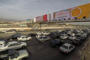 تردد در جادهها ۱۴.۷ درصد دیگر افزایش یافت