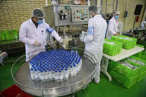 توزیع 150 هزار بطری محلول ضدعفونی