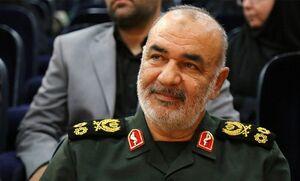 سردار سلامی برای رئیس مجلس آرزوی بهبودی کرد