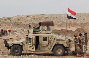 کشته و زخمی شدن ۵ نظامی عراقی در حمله داعش