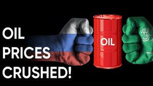 فیلم/ بالا گرفتن جنگ نفتی روسیه و عربستان