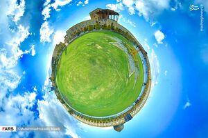 تصاویر 360درجه از نصف جهان