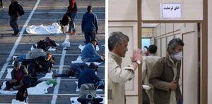 سهم بیخانمانهای لاسوگاس و تهران در دوران کرونا +عکس