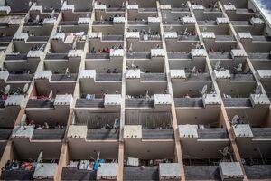 عکس/ تماشای عملیات ضدعفونی خیابانها