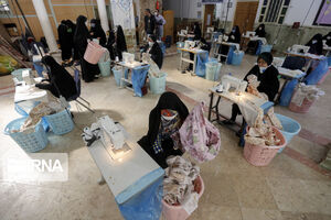 تولید لوازم بهداشتی در امامزاده معصوم (س)