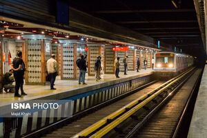 عکس/ مترو تهران در روزهای کرونایی