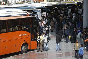 کاهش ورود ۸۳ درصدی مسافران به تهران