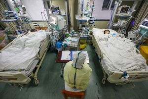 بیمارستانهای ارتش در اختیار بیماران کرونایی است