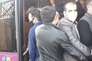 تصویر تامل برانگیز از صبح امروز تهران