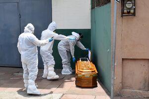 اجساد رها شده قربانیان کرونا در خیابان