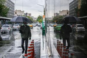 هشدار بارش های شدید و تگرگ در تهران
