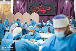 تولید ماسک با حضور نیروی جهادی