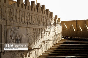 عکس/ سکوت در شهر باستانی تخت جمشید