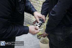 عکس/ دستگیری سارقان تهران