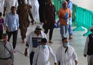 فیلم/ صف طولانی در عربستان برای مجوز خروج از منزل!