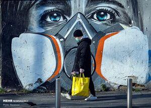 عکس/ دیوارنگارههای کرونایی در کشورهای مختلف