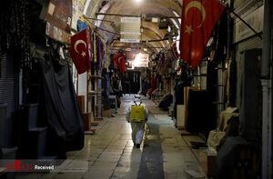 درگیری در ترکیه بر سر نان و مواد غذایی! +فیلم