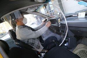 عکس/گارد ضدکرونایی رانندگان تاکسی پایتخت