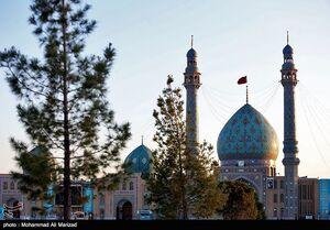 عکس/ حال و هوای مسجد جمکران