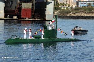 زیردریایی غدیر قابل کشف و رهگیری نیست