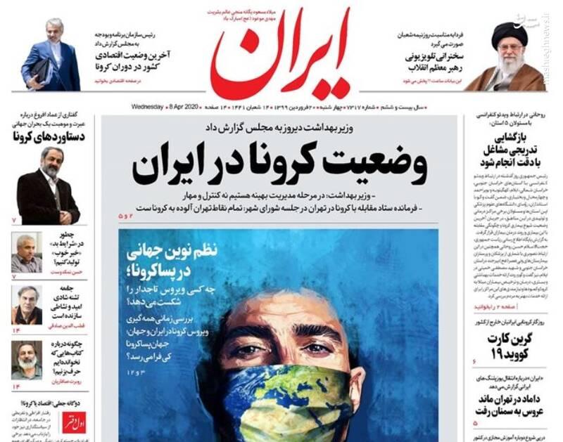 ایران: وضعیت کرونا در ایران