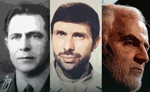 فیلم/ سه سپهد شهید انقلاب