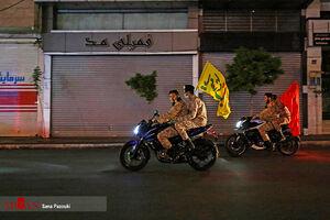 عکس/ خیابانهای تهران در شب میلاد امام زمان(عج)