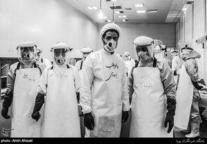 عکس/ بهشت زهرای تهران و غسل جانباختگان کرونا