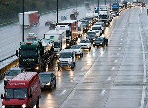 فیلم/ ترافیک سنگین در جادههای مناطق تفریحی!