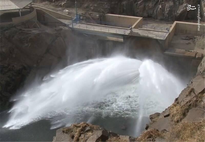 فیلم/ افزایش رهاسازی آب از سد کرخه
