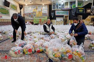 عکس/ سنگ تمام عراقیهای مقیم تهران در نیمه شعبان
