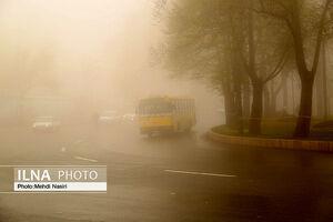 مه گرفتگی در تهران