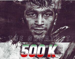 ۲۰K تا نیم میلیونی شدن حسن یزدانی! +عکس