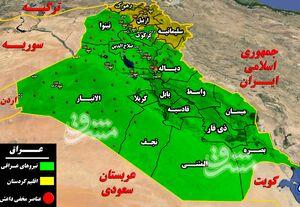 در مناطق غربی عراق چه میگذرد؟ / سناریوی آمریکاییا برای ناامنکردن استان الانبار + نقشه میدانی و عکس