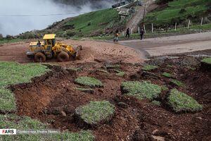عکس/ رانش زمین در مازندران