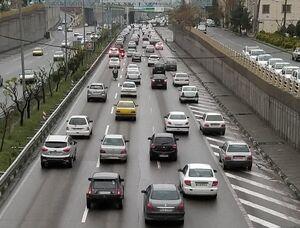بامداد تهران با ترافیک آغاز شد