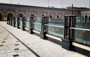 تصاویر جدید از شبستان حضرت زهرا(س) درنجف