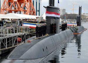 سومین زیردریایی آلمانی به مصر تحویل داده شد