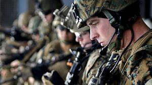 کرونا ارتش آمریکا