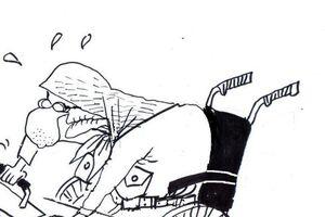 کاریکاتور/ ماله برقی آمریکایی در آلبانی!