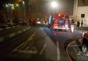 آتشسوزی گسترده در بازارچه سنتی ستارخان/ ۱۲ باب مغاز در آتش سوخت + تصاویر